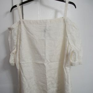 NWT RALPH LAUREN OFF-SHOULDER TOP